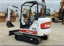 Bobcat 325 decalcomanie kit Completo