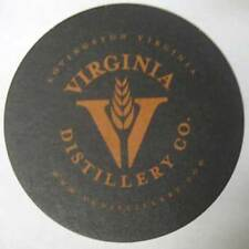 VIRGINIA DISTILLERY CO., WHISKEY, Malt Whisky COASTER, Mat, Lovingston, VIRGINIA