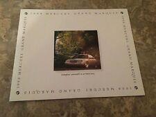 1998 Mercury Grand Marquis 22-page Original Sales Brochure