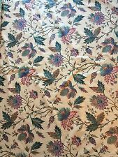 """La Jarie"" Schumacher Screen Print Fabric. 9.6 Yards"