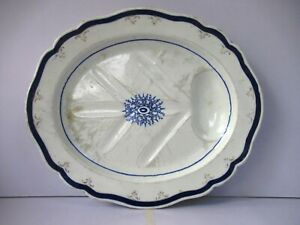 "Antique Large Chamberlain Worcester Platter Venison Dish Meat Server Plate Old""2"