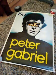 Peter Gabriel So  Poster