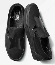 Vans X Mens 10 Womens 11.5 Classic Slip On DB David Bowie Blackstar Sneakers*
