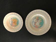 Hallmark 1984 Heirloom CollectIon, Baby Saucer & Bowl, A Baby Brings New Joy To