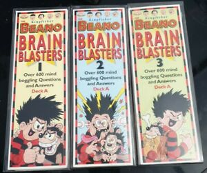 Beano Brain Blasters Sets 1-3