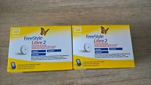 FreeStyle Libre2 2 sensors mg/dl or mmol/l WORLDWIDE SHIPPING