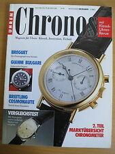 CHRONOS Nr. 6 1993 - Uhren Zeitschrift, Uhrenheft, Magazin