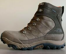The North Face Men's CHILKAT LEATHER BOOTS size 12 $120 Weimaraner Brown