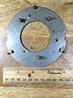 Old Clock Dial Pan Mounting Plate         (Clock Dial Lot K1578)