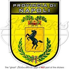 """NAPLES Province Shield ITALY Provincia di Napoli Italian 4"""" Bumper Sticker Decal"""