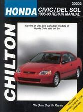 Honda Civic/del Sol, 1996-2000 (Chilton's Total Car Care Repair Manuals), Chilto
