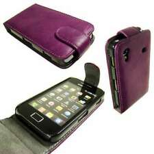 caseroxx Flip Cover for Samsung S5830 Galaxy Ace in purple made of faux leather
