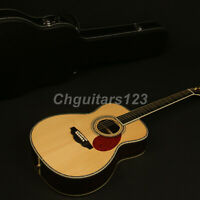 Zuwei Hardmade Edition Acoustic Guitar Full Solid Spruce Top &Rosewood Back&side