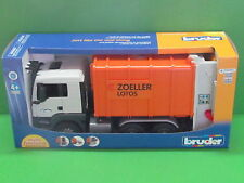 Bruder 03762 MAN TGS Hecklader Müll-LKW - Blitzversand per DHL-Paket