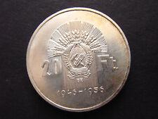Ungarn 20 Forint 1956 Brücke Silber vzgl KM553