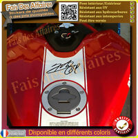 sticker autocollant SIGNATURE NICKY HAYDEN 69 autographe motard casque moto