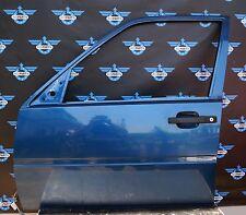 original Tür, vorne links, in pazifikblau (325) für Volvo 440 / Volvo 460