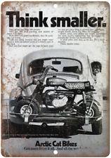 "Artic Cat Bikes Vintage Mini Bike Ad 10"" x 7"" Reproduction Metal Sign A354"