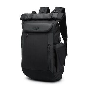 Men Laptop Backpacks USB Charging  Multifunction Waterproof Travel Schoolbag