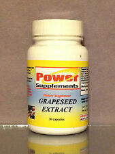 grape seed extract, antiaging, blood health, antioxidant, USA made - 30 capsules