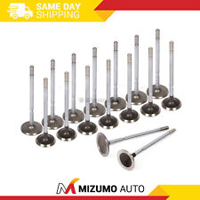 Intake Exhaust Valves Fit Dodge Mitsubishi Eagle Plymouth 2.0 2.4 DOHC 420A 16V