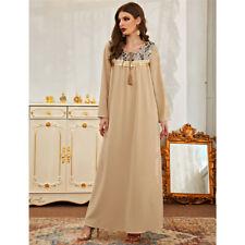 Dubai Abaya Kaftan Women Maxi Dress Muslim Jilbab Caftan Arab Robe Cocktail Gown