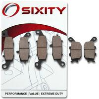 Front + Rear Ceramic Brake Pads 2004-2006 Suzuki DL650 V-Strom Set Full Kit kx