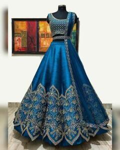 Bollywood Dress Indian Pakistani Bridal Anarkali Lehenga choli  Party Wear Gown