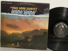 Paul Horn Quintet Monday Monday LP 1966 LSP Norwegian Wood Satisfaction Girl