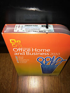 Microsoft Office Home and Business 2010, SKU T5D-00417, Retail Box, Full Version