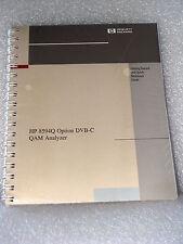Agilent / HP 8594Q Option DVB-C QAM Analyzer Getting Started & Quick Ref. Guide