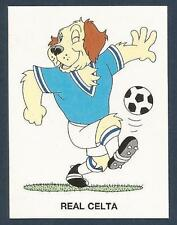 PANINI FUTBOL 93-94 SPANISH -#089-REAL CELTA-CARTOON DOG