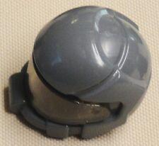 NEW Lego Army Minifig Headgear Space Hat w/ VISOR Dark Bluish Gray
