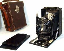 old rare plate camera Zeiss Ikon TENAX(folding),Carl Zeiss Jena TESSAR 3,5/105mm