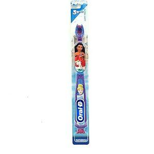 Oral B Kids Disney Princess Soft Manual Toothbrush Ariel Belle Moana Cinderella