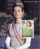 Senegal Royalty Stamps 1998 MNH Grace Kelly Princess of Monaco Movies 1v M/S