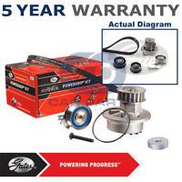Gates Timing Cam Belt Water Pump Kit For Opel Saab Vauxhall Tensioner KP25499XS2