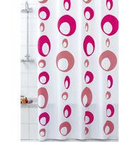 Tende doccia ANTIMUFFA vinile impermeabile 3 misure anelli inclusi telo bagno