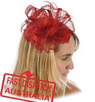 Spring Race Carnival Melbourne Cup Feather Fascinator Headband Clip Hatinator