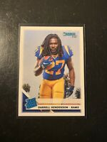 2019 Donruss Rated Rookie Darrell Henderson RC RAMS