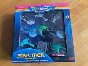 Micro Machines Star Trek Space Ship Collectors Set 1993 Galoob Limited Edition