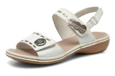 Rieker Strappy 100% Leather Sandals & Beach Shoes for Women