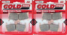 SINTERED HH FRONT BRAKE PADS (2xSets) For: SUZUKI GSX-R 750 SRAD GSXR750 (97-98)