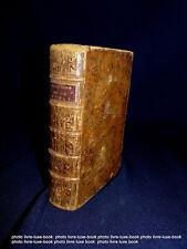 Barral Dictionnaire portatif de la bible 1756 édition originale exegese auxerre