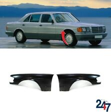 NEW MERCEDES-BENZ W126 1979 - 1991 FRONT WING FENDER COVERS PAIR SET N/S O/S