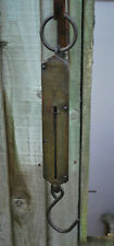 Antique/Vintage Salter No3 Brass and Iron Balance Scales - Angling 50lbs  #64