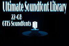 25+GB SOUNDFONT LIBRARY // 6775+ SOUNDFONTS  //  DIGITAL DOWNLOAD