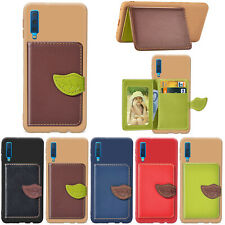 Leaf Leather Wallet Case Card Slot Flip Cover For Huawei Mate 20 Pro Y9 Honor 8X