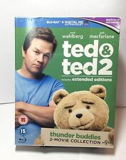 Ted & Ted 2 (2 Movie Bluray Boxset) BRAND NEW Free Shipping - Region Free
