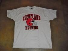 Cleveland Browns shirt sz 4XL /XXXXL deadstock mint nwot white w Helmet Logo NFL